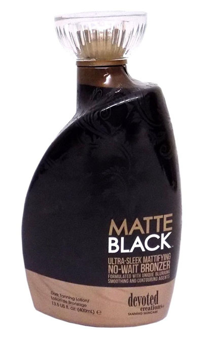 Devoted Creations Matte Black Zonnebankcreme
